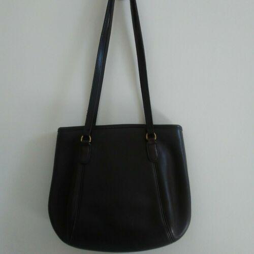 COACH Purse Handbag Leather Shoulder Brown A7C-99… - image 1