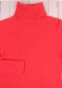 M Melani Sweater Strik Guava Antonio Kvinners Arabella Cashmere Nwt Turtleneck 46nxBpH