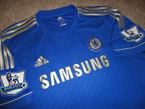innovative design 24078 ff4b4 Details about Authentic Alex Oxlade-Chamberlain Chelsea FC Soccer Football  Shirt Jersey 2XL