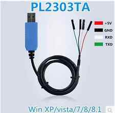 PL2303TA USB TTL to RS232 Converter Serial Cable module for win 8 XP VISTA 7 8.1