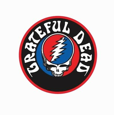 The Grateful Dead Sticker Music BAND Collectible R203 CHOOSE SIZE FROM DROPDOWN
