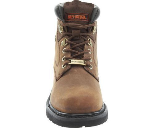 0faccb53daf57 Harley Davidson Ladies Ladies Ladies Bayport Brown Leather Boots ...