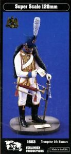 Verlinden-Productions-120mm-1-16-Trumpeter-5th-Hussars-Resin-Figure-Kit-1603
