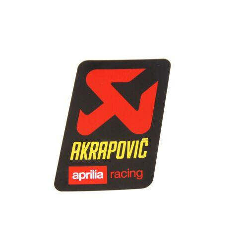 Akrapovic Aprilia échappement Autocollant Hitzefest Aprilia Dorsoduro 750