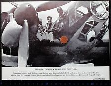 Kampfjet Flugzeug Pilot WK-2 Akkordeon Militär England - Pressefoto (L-4393+