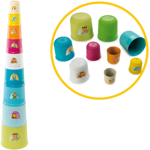 Smoby Cotoons Großer Stapelturm Super Magic Tower