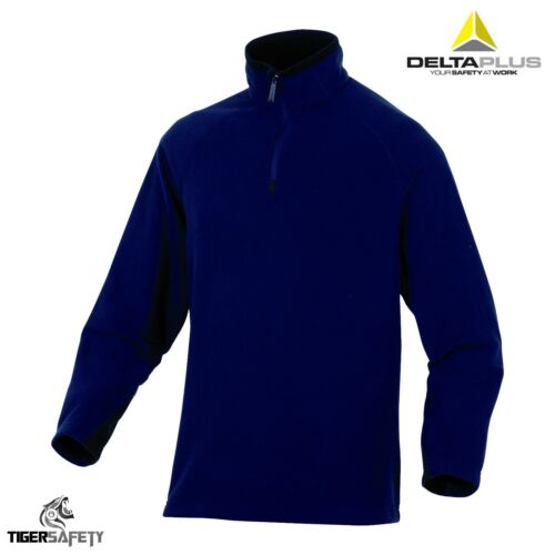 Delta Plus Alma Mens Polar 1//4 Zip Pullover Polar Fleece Jacket Coat Top Sweater