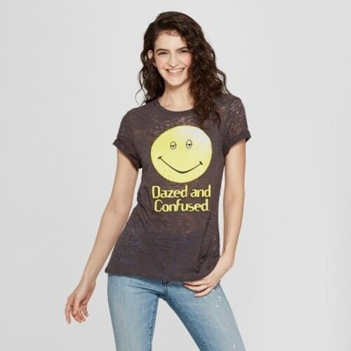 Dazed And Confused  Short Sleeve Graphic Black XS-XL #R76 Women/'s Crew Tee