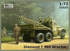 Diamond T-969 Grúa Camión Con Grúa (canadiense MKGS-Normandía 1944) 1/72 Ibg