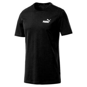 Détails sur Puma Homme Amplifié T Shirt Noir 854655 01