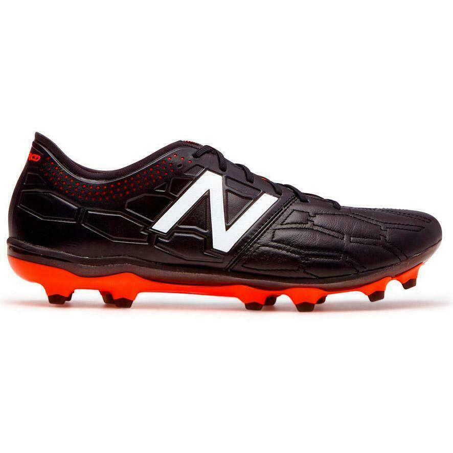New balance visaro 2.0 K Cuero FG botas De Fútbol Unisex Negro