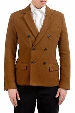 "Dolce & Gabbana ""Sicilia"" Men's 100% Wool Brown Blazer Sport Coat US 38 IT 48"