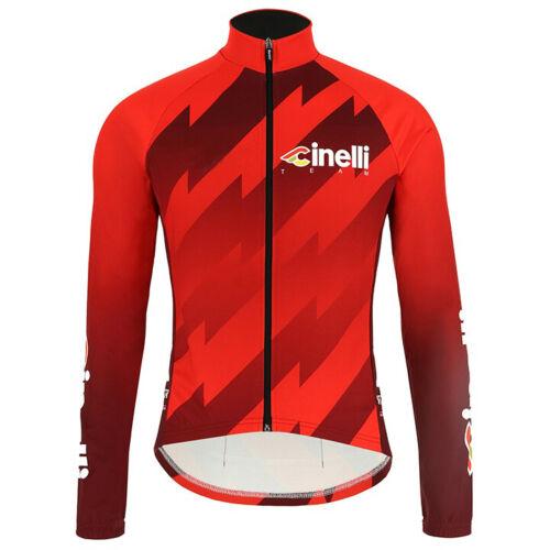 2020 Mens Thermal Fleece Cycling Jerseys Cycling long Sleeve Jersey Cycling Wear