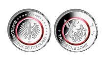 10 x 5 Euro Münze, 2017, D - München, Tropische Zone, roter Polymer-Ring