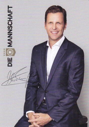 Autogrammkarte Nationalmannschaft Deutschland AK32 DFB Oliver Bierhoff