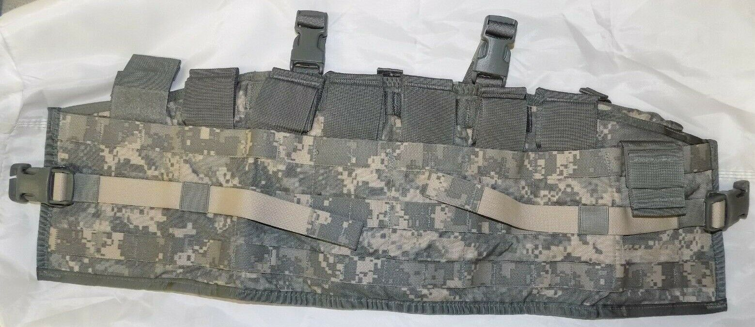 NEW US Military TACTICAL ASSAULT PANEL TAP ACU Camo Combat Chest Rig 8 Mag