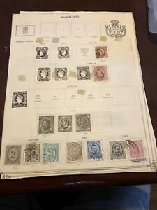 LOT-OF-PORTUGAL-STAMPS-1864