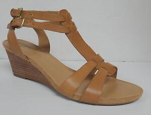 Franco Sarto Quot Dare Quot Ladies Women S Tan Leather Wedge Heel