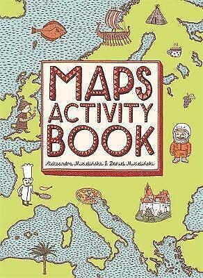 1 of 1 - Good, Maps Activity Book, Daniel Mizielinski, Aleksandra Mizielinska, Book