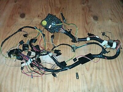 1980 PONTIAC TRANS AM FIREBIRD FORMULA DASH WIRING HARNESS ...