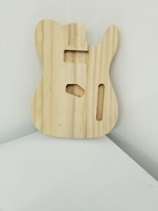unfinished-Telecaster-style-solid-Paulownia-DIY-sanded-electric-guitar-body