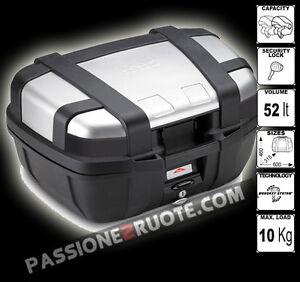 Top-Case-Givi-Trekker-52-ltr-with-rear-rack-Sra5102-Bmw-R-1200-Gs-Adventure-2007