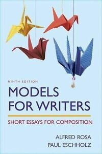 Models for Writers, 13th Edition | Macmillan Learning for Instructors