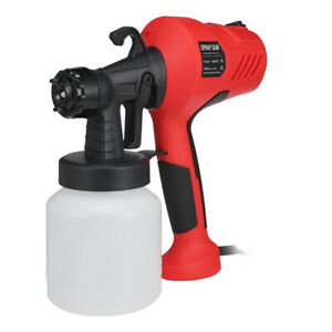 GT-006-350-800ml-400W-Container-Electric-Paint-Sprayer-Gun-Three-Nozzle-Pattern