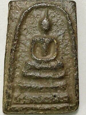 PHRA SOMDEJ SUMRAKHANG LP RARE OLD THAI BUDDHA AMULET PENDANT MAGIC ANCIENT#6