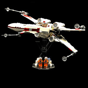 Acryl-Display-Stand-Acrylglas-Standfuss-fuer-Lego-9493-X-Wing-Starfighter