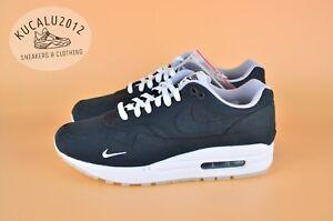 newest 9983f 78198 Nike Air Max 1 X DSM Dover Street Market Mini Swoosh Black AH8051 ...