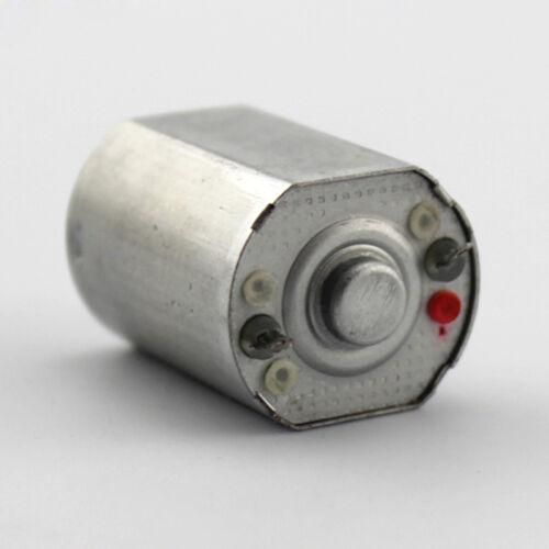 DC 3 V 5 V 6 V 1700 tr//min Micro Moteur 150 Jouet Pièces Moteur Mini petit moteur à courant continu pour le bricolage
