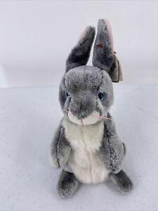 Ty Beanie Baby - HOPPER the Bunny Rabbit (7 Inch) with TAG