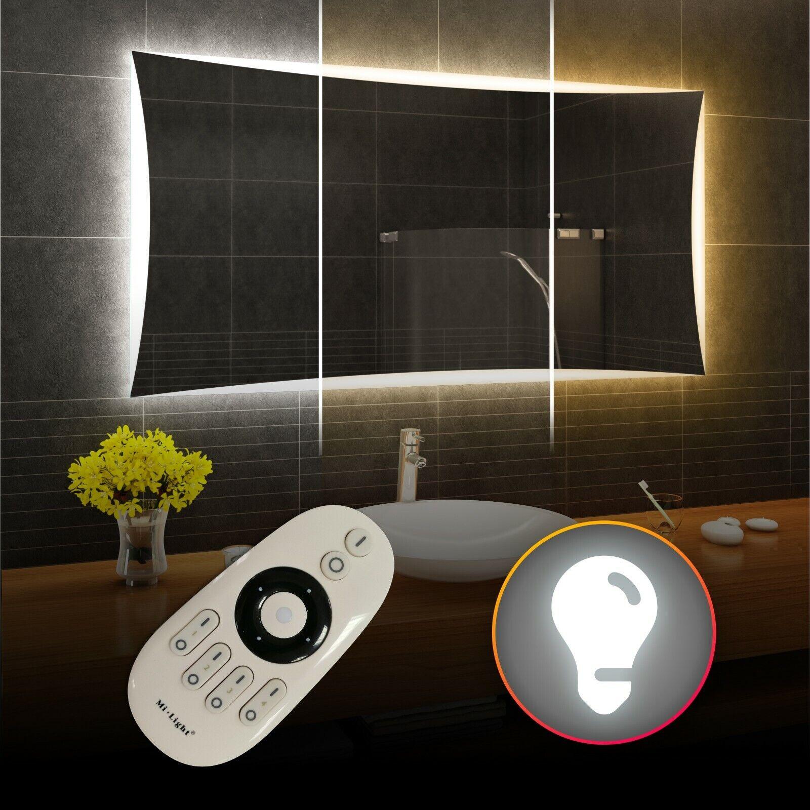 Iluminado LED Espejo De Baño   doble LED-blancoo cálido frío neutral   L77