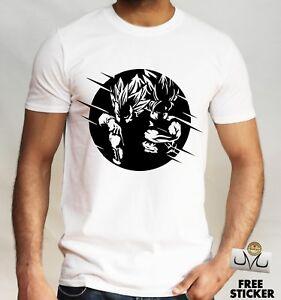 b3c85d4f Goku and Vegeta T-shirt DBZ Super Saiyan Tee Dragon Ball Z Super ...