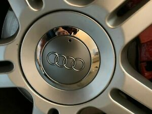 OEM by Audi Quattro Alloy Wheel Center Cap A4 S4 A6 B6 B7 2004-2009 4F0601165SRA