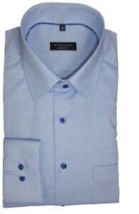 Manche Longue 15 Fit 72 8131 Cm Motifs E18e Bleu Eterna Comfort Extra Shirt ZwCvqF