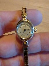 Vintage Timex ladies watch, running with new battery NR