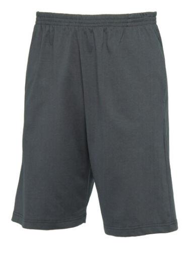 Uomo Pantaloni Corti Sweat Short Pantaloni Sport
