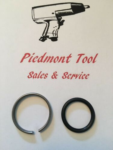 """Ingersoll-Rand Socket Retainer Ring /& O-Ring 1/"""" Anvil For IR Model 285A /& 285A-6"""