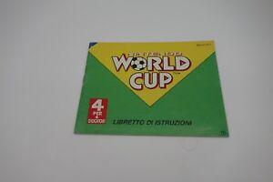 NINTENDO-WORD-CUP-manuale-in-italiano-nes-8-bit-ITALIANO