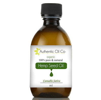 Hemp Oil 100% Pure Organic Grade 5ml 50ml 100ml 250ml 500ml 1 litre