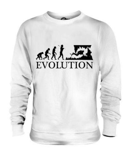 Grotte Tauchen Evolution des  Herrenchen Unisex Pullover Herren Damen Geschenk