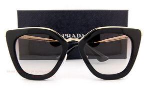 0bc7f19aa3c1 Brand New Prada Sunglasses PR 53SS 1AB 0A7 Black/Gray Gradient Women ...
