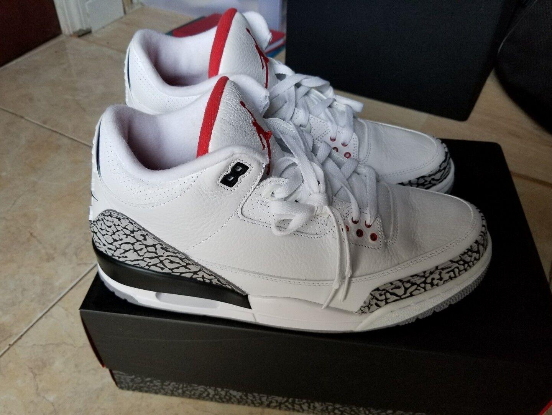 Nike Air Jordan 3 88 White Cement 2013 III Retro '88 580775-160 DS
