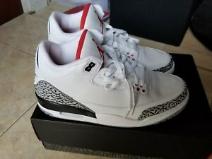 f0560d6742ddc9 Nike Air Jordan 3 88 White Cement 2013 III Retro  88 580775-160 DS ...