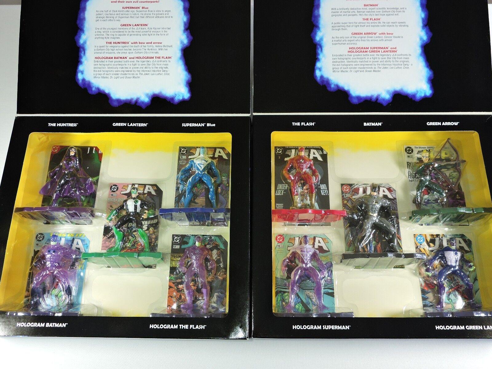 JLA Justice League of America Greatest DC Collection I & II Batman Superman NEW
