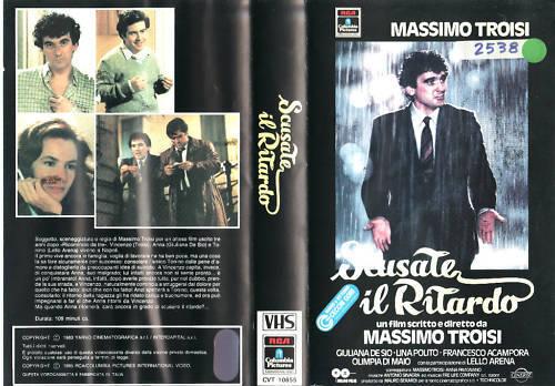 SCUSATE IL RITARDO (1983) VHS