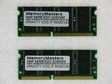128MB (2X64MB) EDO MEMORY RAM NON-PARITY 60NS SODIMM