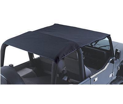 Black Denim for 1992-1995 Jeep Wrangler YJ 94015R Rampage Combo Brief /& Topper
